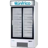 Armario expositor refrigeracion 2 puertas corredera Fondo 600