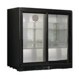 Mini Armario Expositor Refrigeracón Sobremesa 2 Puertas