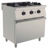Cocina Snack a Gas 2 fuegos con horno